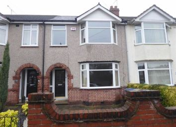 Thumbnail 3 bedroom terraced house for sale in Gaveston Road, Coundon, Coventry