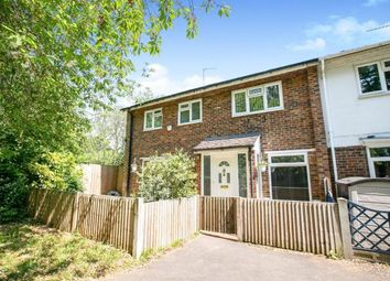 Thumbnail 4 bedroom end terrace house for sale in Wood Drive, Stevenage, Hertfordshire