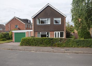 Thumbnail 3 bed detached house for sale in Willowbrook Close, Ashby De La Zouch