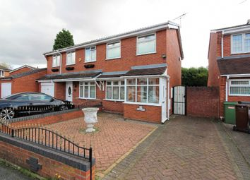 Thumbnail 2 bed semi-detached house for sale in Hawkswell Drive, Willenhall