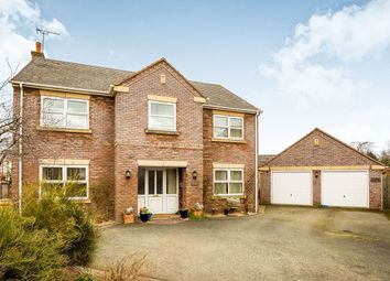 Thumbnail 4 bed detached house for sale in The Brambles, Crew Green, Shrewsbury