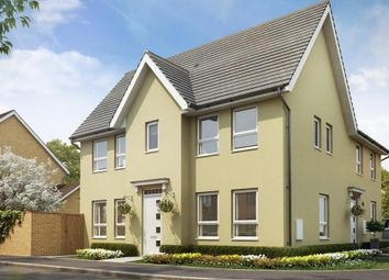 "Thumbnail 3 bedroom semi-detached house for sale in ""Morpeth"" at Tiverton Road, Cullompton"
