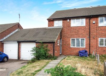 Thumbnail 3 bed end terrace house for sale in Barkby Thorpe Lane, Thurmaston, Leicester, Leicestershire