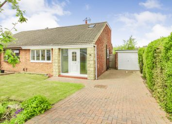 Thumbnail 3 bedroom semi-detached house for sale in Witham Grove, Hartlepool
