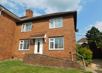 Thumbnail 3 bed semi-detached house to rent in Lime Crescent, Church Warsop, Mansfield