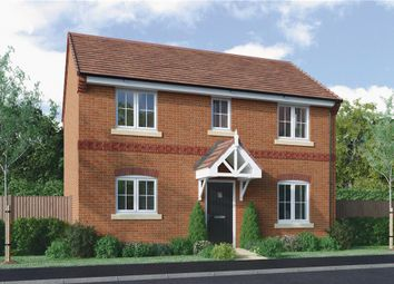 """Thumbnail 3 bed detached house for sale in """"Castleton"""" at Edwin Close, Cawston, Rugby"""