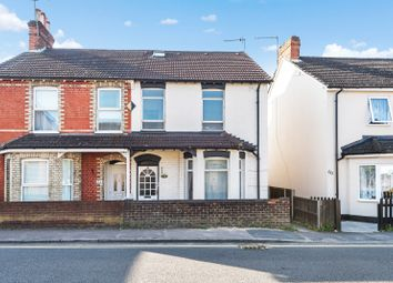 Thumbnail 4 bed semi-detached house for sale in High Street, Knaphill, Woking