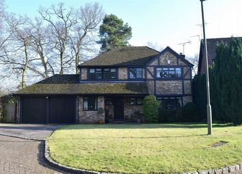 Thumbnail 4 bed detached house for sale in Weston Grove, Bagshot, Surrey