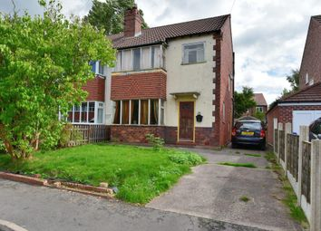Thumbnail 3 bedroom semi-detached house for sale in Eyam Grove, Offerton, Stockport