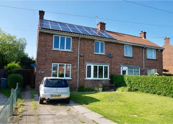 Thumbnail 4 bedroom semi-detached house for sale in The Crescent, Horncastle