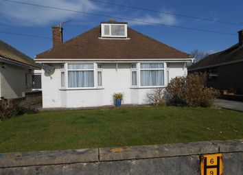 Thumbnail 3 bed detached bungalow to rent in Severn Road, Porthcawl