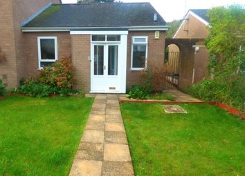 Thumbnail 1 bed bungalow to rent in Mercer Court, Bishop Westall Road, Exeter