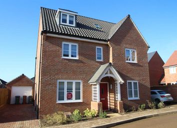 Thumbnail 5 bed detached house for sale in Elm Close, Martlesham, Woodbridge