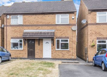 Thumbnail 2 bed semi-detached house to rent in The Vineries, Countesthorpe, Leicester