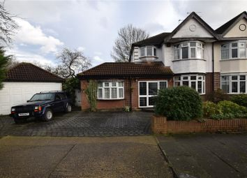 Thumbnail 3 bedroom semi-detached house for sale in Netherpark Drive, Gidea Park, Essex