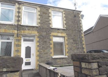 Thumbnail 1 bed flat to rent in Bridgend Road, Maesteg, Mid Glamorgan