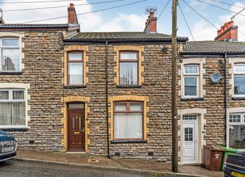 Thumbnail 3 bed terraced house for sale in Duffryn Street, Pontlottyn, Bargoed