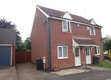 Thumbnail 2 bed semi-detached house for sale in Trefoil Close, Hamilton, Leicester