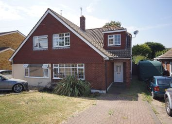 Thumbnail 4 bed semi-detached house for sale in Wakering Road, Shoeburyness, Southend-On-Sea