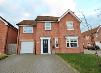 Thumbnail 4 bed detached house for sale in Captains Close, Goole
