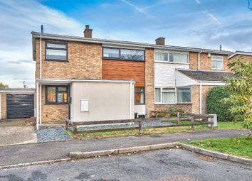 Thumbnail 3 bed semi-detached house for sale in Dove House Close, Bromham, Beds