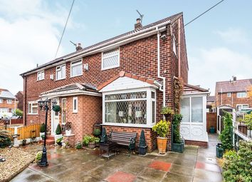 Thumbnail 3 bed semi-detached house for sale in Balmoral Road, Clifton, Swinton, Manchester