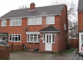 Thumbnail 3 bed semi-detached house for sale in Warwick Drive, Cheshunt
