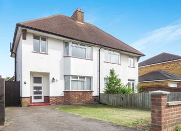 Thumbnail 3 bed semi-detached house for sale in Broadmead, Biggleswade
