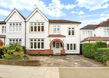 Thumbnail 4 bedroom semi-detached house for sale in Barrow Point Avenue, Pinner, Middlesex