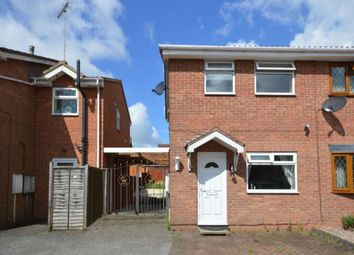 Thumbnail 2 bed semi-detached house for sale in Rosecroft Gardens, Swadlincote