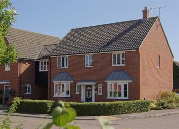 Thumbnail 4 bed link-detached house for sale in Turnstone Drive, Bury St. Edmunds