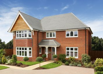 Thumbnail 4 bedroom detached house for sale in Plot 332 - The Balmoral, Redrow At Abbey Farm, Lady Lane, Swindon, Wiltshire