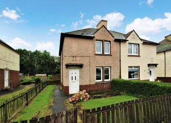 Thumbnail 2 bedroom semi-detached house for sale in Laughland Drive, Newarthill, Motherwell