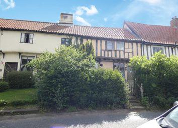 Thumbnail 2 bed terraced house for sale in Gracechurch Street, Debenham, Stowmarket