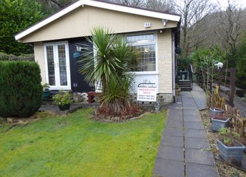 Thumbnail 1 bed mobile/park home for sale in Gelder Clough Park, Ashworth Road, Heywood, Lancashire