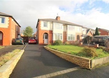 Thumbnail 3 bed property for sale in Hall Lane, Leyland