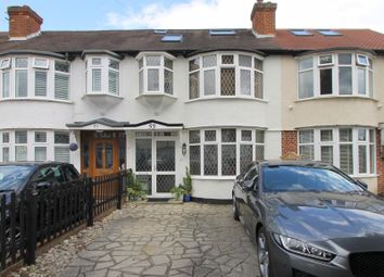 Thumbnail 4 bed terraced house for sale in St. Margarets Avenue, North Cheam, Sutton