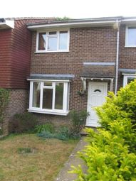Thumbnail 2 bedroom terraced house to rent in Mantell Close, Lewes