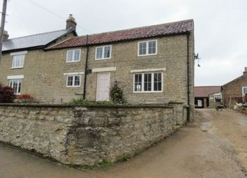 Thumbnail 3 bedroom semi-detached house to rent in Main Street, Wombleton, York