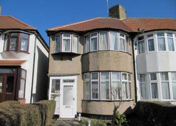 Thumbnail 4 bed semi-detached house to rent in Horsenden Avenue, Sudbury Hill, Harrow