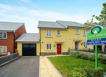 Thumbnail 3 bed semi-detached house for sale in Hockmore Drive, Newton Abbot, Devon