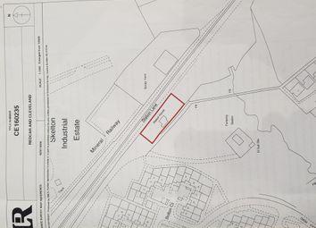 Thumbnail Land for sale in Former Station House, Station Lane, Skelton