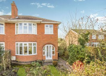 Thumbnail 3 bed semi-detached house for sale in Loughborough Road, Hathern, Loughborough