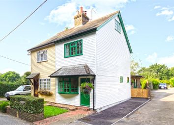 Thumbnail 3 bed semi-detached house for sale in The Rushetts, Main Road, Edenbridge