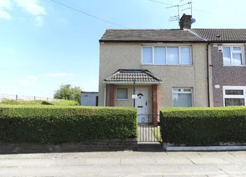 Thumbnail 2 bedroom end terrace house for sale in Rockford Avenue, Kirkby, Liverpool