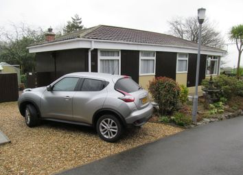 Thumbnail 1 bed mobile/park home for sale in Honicombe Park (Ref 5528), Callington, Cornwall