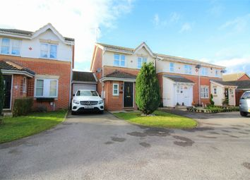 Thumbnail 3 bed link-detached house for sale in Challinor, Church Langley, Harlow, Essex