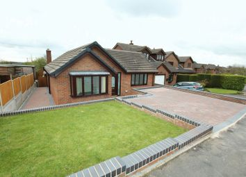 Thumbnail 4 bed detached bungalow for sale in Rowan Close, Biddulph Moor, Stoke-On-Trent