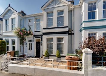 Thumbnail 4 bed terraced house for sale in Moorland Avenue, Plymouth, Devon