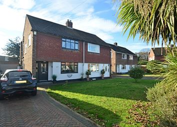 Thumbnail 3 bedroom semi-detached house for sale in Barham Close, Bromley
